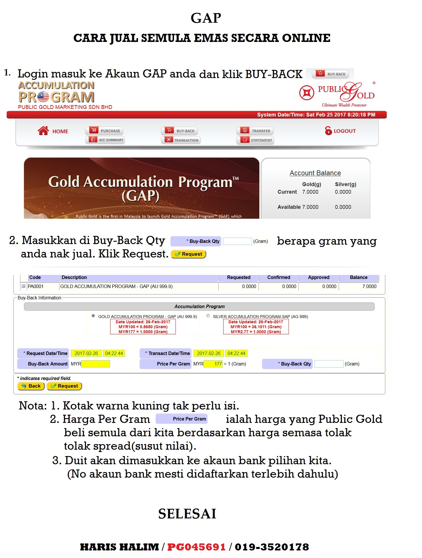 gap-buyback